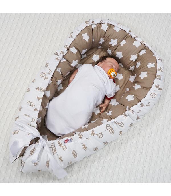Кокон-гнездышко для младенца Farla Королевский