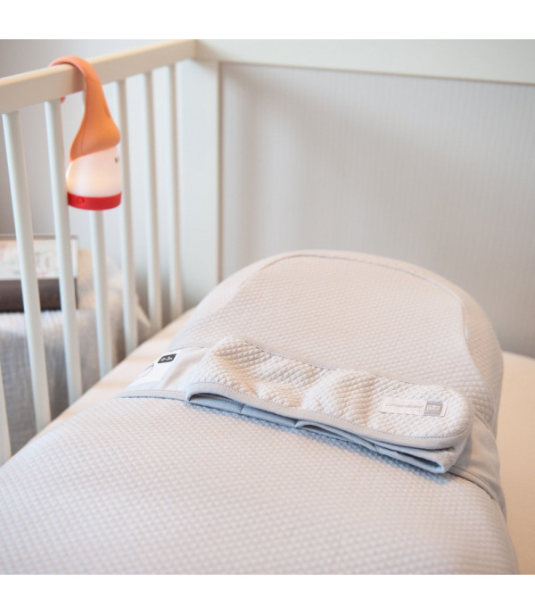 Простынка для кроватки COCOONaBABY S3 Red Castle (Fleur de Coton®) серая