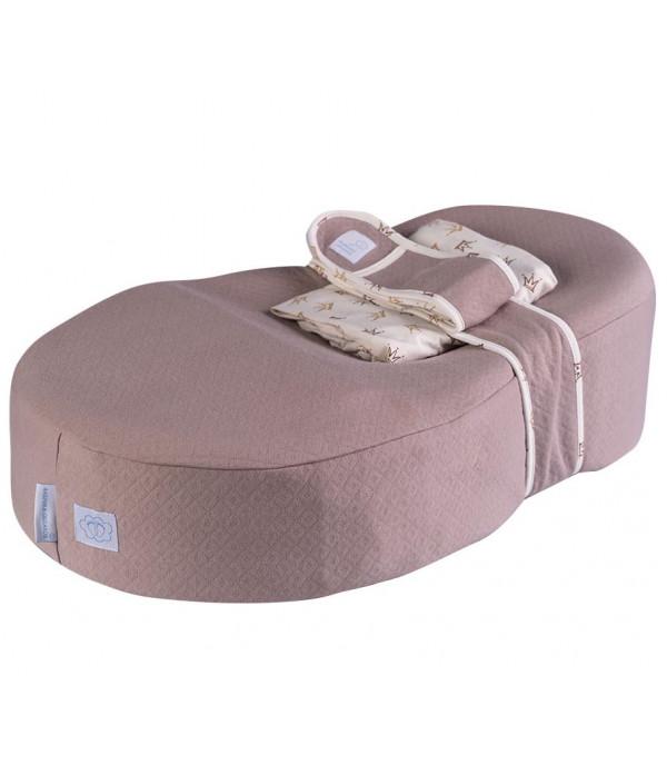 Кокон для новорожденного  Фабрика Облаков «Зевушка» какао