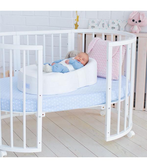Кокон для новорожденного  Фабрика Облаков «Зевушка» молочный